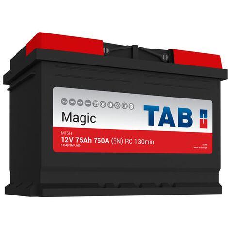 Batterie de démarrage TAB Magic Car L3 M75H 12V 75Ah 750A