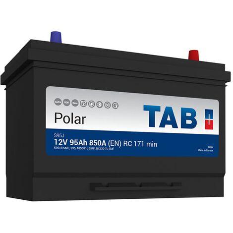 Batterie de démarrage TAB Polar S M11D S95J 12V 95Ah 800A