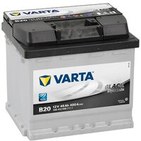 Batterie de démarrage Varta Black Dynamic L1G B20 12V 45Ah / 400A