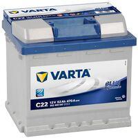 Batterie de démarrage Varta Blue Dynamic L1 C22 12V 52Ah / 470A