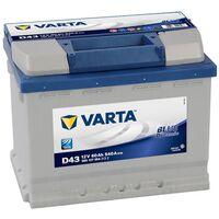 Batterie de démarrage Varta Blue Dynamic L2G D43 12V 60Ah / 540A