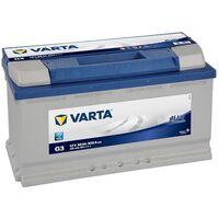 Batterie de démarrage Varta Blue Dynamic L5 G3 12V 95Ah / 800A