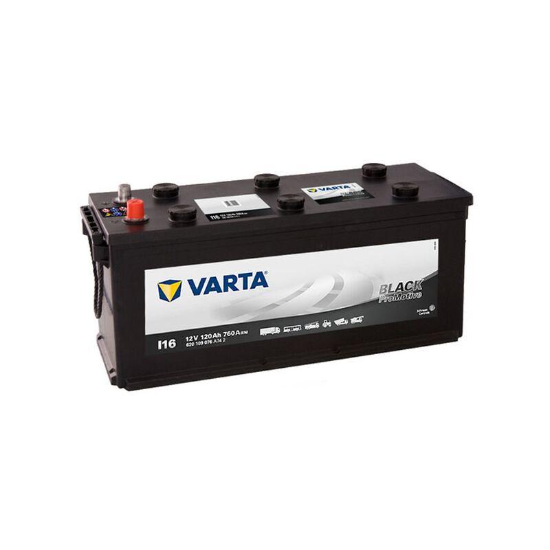 Batterie de démarrage Varta Promotive Black D14D MAC 120