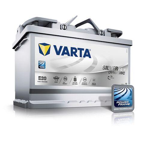 Batterie de démarrage Varta Silver Dynamic L3 E39 12V 70Ah / 760A 570901076