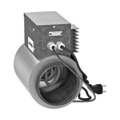 Batterie de post-chauffage 1,2 kW D125 - NKD ECONOPRIME - NKD12512