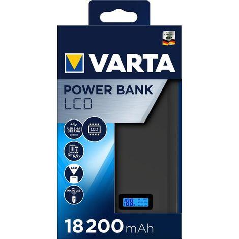 Batterie de secours Powerbank LCD 13000 mAh