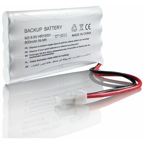 Batterie de secours Somfy pour moteur de portail ou porte de garage - 2400720