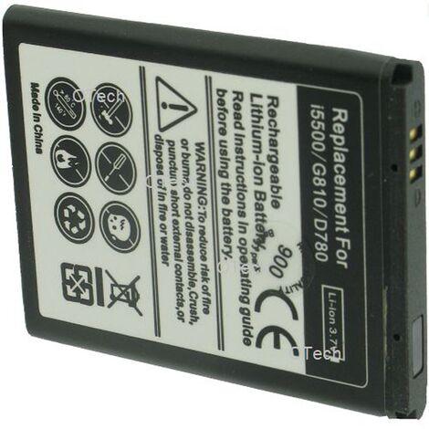 Batterie de téléphone portable pour SAMSUNG B5722 / i5500 3.7V 900mAh