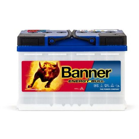 Batterie décharge lente Banner Energy Bull 95601 12v 80 ah