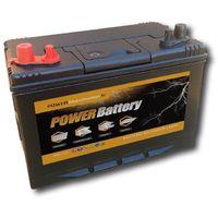 Batterie décharge lente Power Battery 12v 100ah double borne