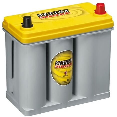 Batterie Dual Sprial Cell OPTIMA YELLOW TOP YT R - 2.7 12V 38AH 460 AMPS (EN)