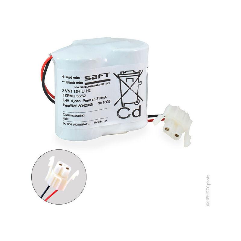 Batterie eclairage secours 2 VNT DH U ST1 2.4V 4000mAh - Arts Energy