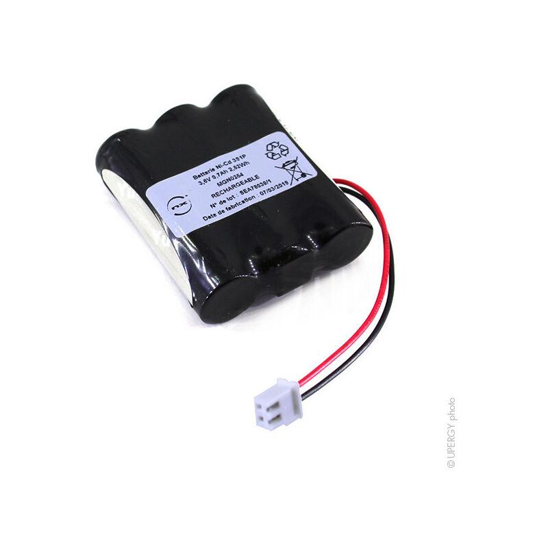 NX - Batterie eclairage secours 3x AA 3S1P ST1 3.6V 0.7Ah FC
