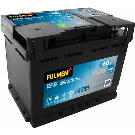BATTERIE EFB FULMEN FL600 12V 60AH 640A