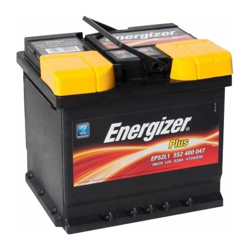 Batterie Plus 52Ah/470A EP52-L1 - Energizer