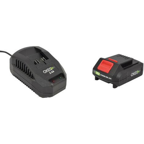 Batterie et chargeur rapide batterie 18V Easy Full - 2.4A