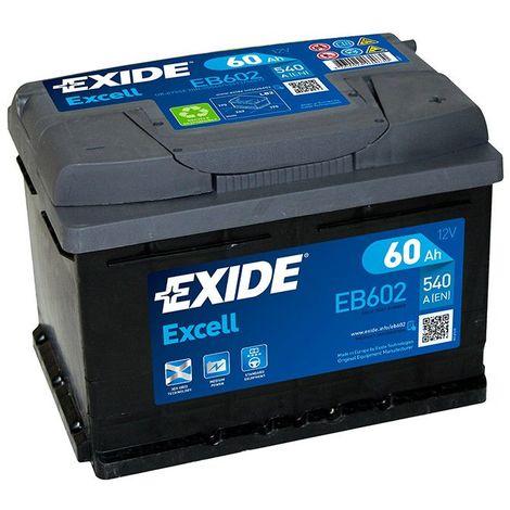 Batterie EXIDE Dynamic 12V 65Ah 540A Batterie voiture