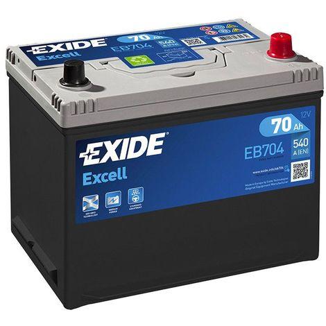 Batterie Exide EB704 12V 70AH 540A FB704