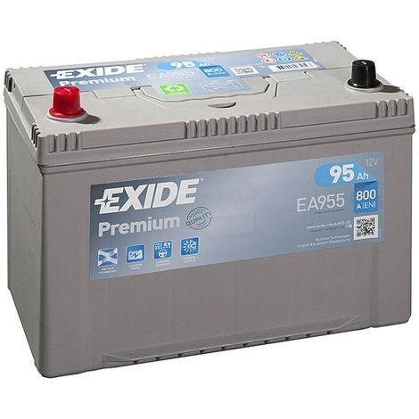 Batterie Exide Premium EA955 12v 95AH 800A FA955