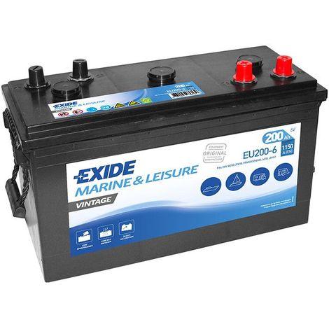 Batterie Exide Vintage EU200-6 6V 200ah 1150A
