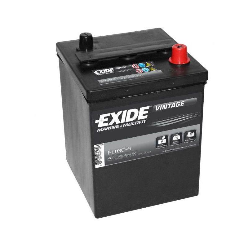 Batterie Exide Vintage 6V 80Ah 600A(En) M02