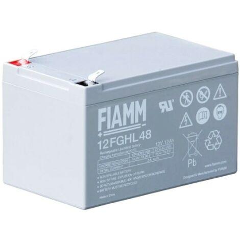 Batterie Fiamm 12V 12AH pour UPS 12FGHL48