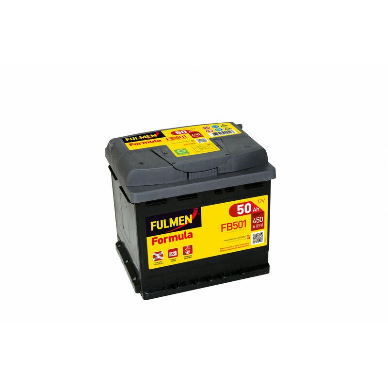 Batterie Fulmen Formula Fb501 12V 50Ah 450A