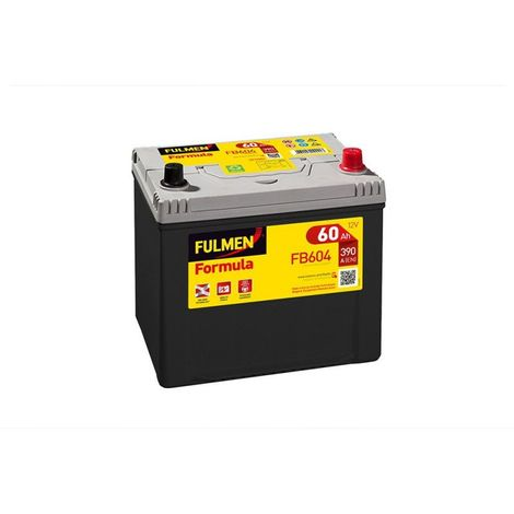 Batterie FULMEN Formula FB604 12v 60AH 390A