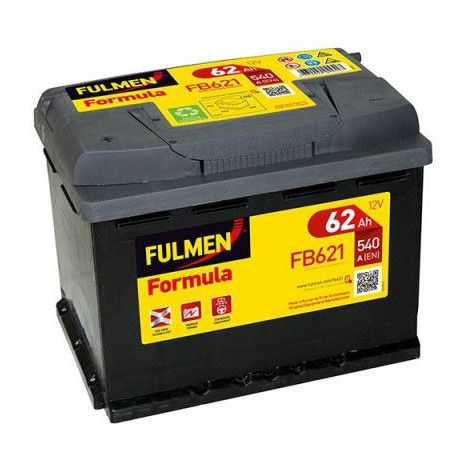 Batterie FULMEN Formula FB621 12v 62AH 540A