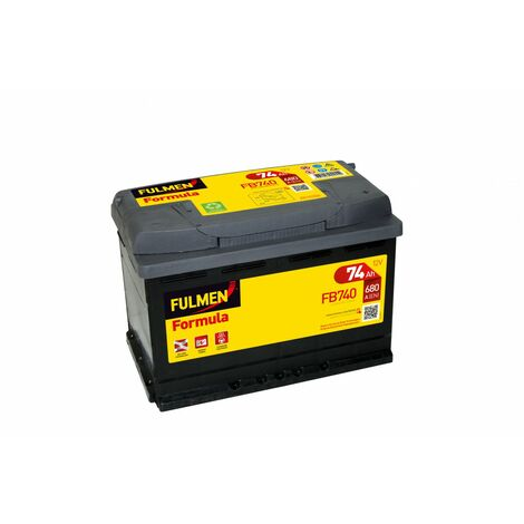 Batterie FULMEN Formula FB740 12v 74AH 680A