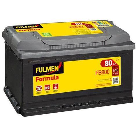 Batterie FULMEN Formula FB800 12v 80AH 640A