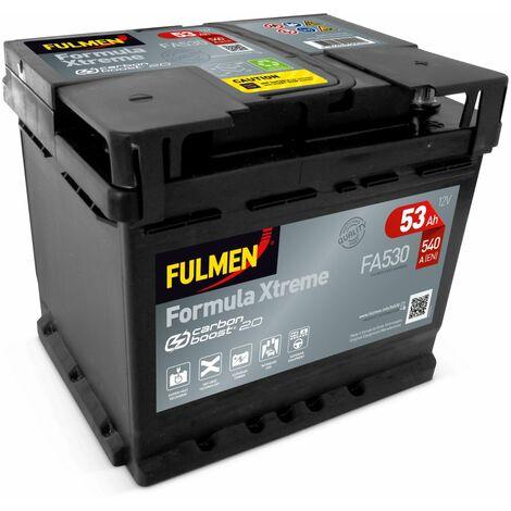 BATTERIE FULMEN FORMULA XTREME FA530 12V 53AH 540A