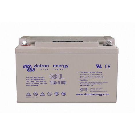 Batterie décharge lente Victron BAT412101104 Gel 12v 110ah