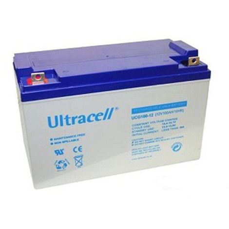 Batterie Gel Ultracell UCG100-12 12v 100ah