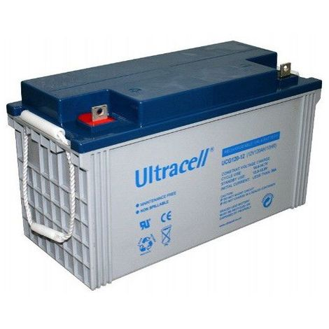 Batterie Gel Ultracell UCG120-12 12v 120ah