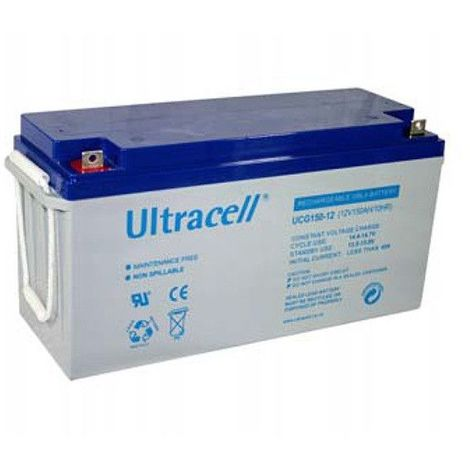 Batterie Gel Ultracell UCG150-12 12v 150ah