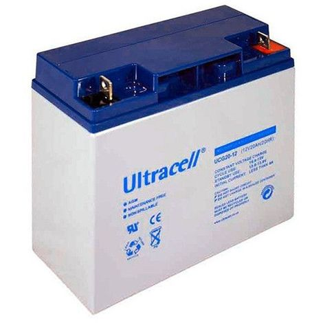 Batterie Gel Ultracell UCG20-12 12v 20ah