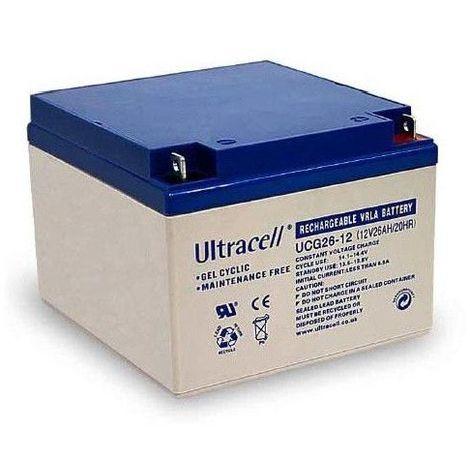 """main image of """"Batterie Gel Ultracell UCG26-12 12v 26ah"""""""