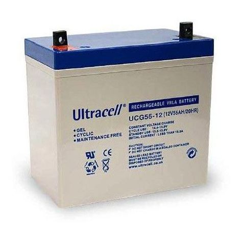 Batterie Gel Ultracell UCG55-12 12v 55ah