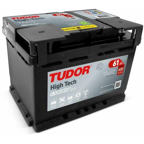 Batterie HIGH TECH TUDOR TA612 12V 60Ah 600A