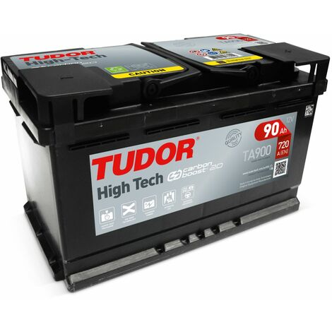 Batterie HIGH TECH TUDOR TA900 12V 90Ah 720A