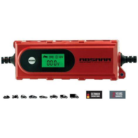 Absaar Batterie Ladegerät 612 Volt 4 Ampere