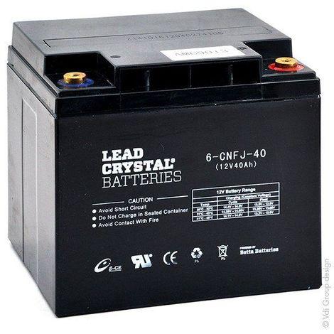 Batterie lead crystal 6-CNFJ-40 12V 40Ah M6-F