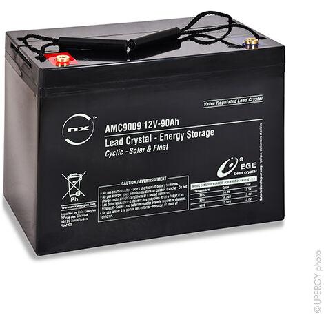 Batterie lead crystal 6-CNFJ-90 12V 90Ah M6-F