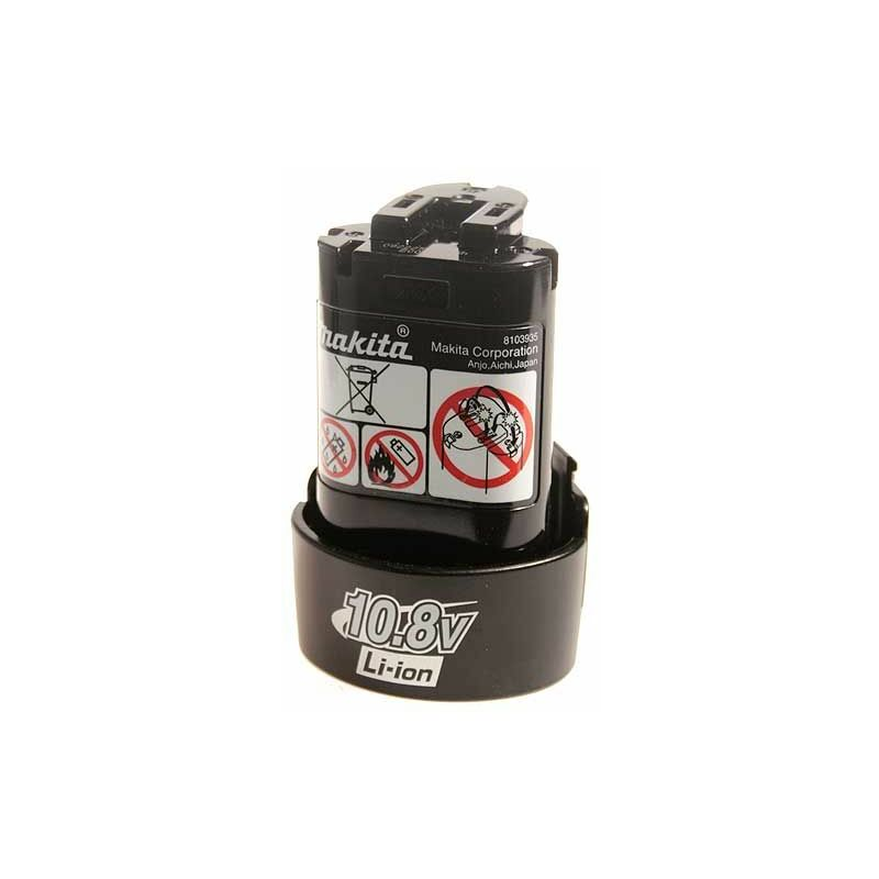 Batterie Makita Li-Ion 10,8V / 1.3 A -194550-6 - -