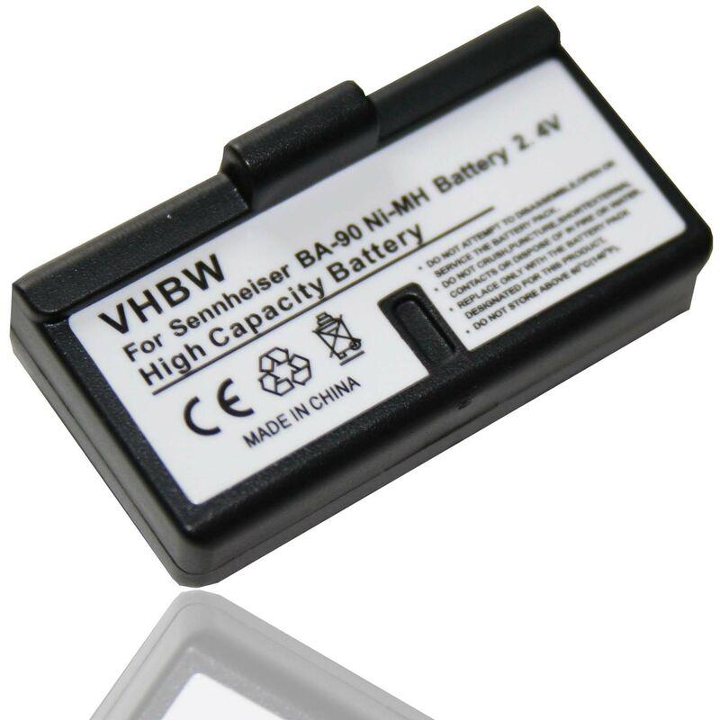 Batterie LI-ION compatible pour SENNHEISER S180 / Audioport A1 / HDI 92P / HDI 1029 / HDI 1029-PLL8 / HDI 1029-PLL16 / HDI 1030