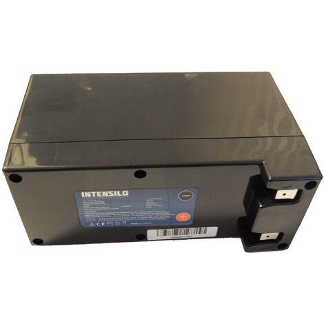 Batterie Li-Ion INTENSILO 9000mAh (25.2V) pour tondeuse robot Ambrogio L100, L100 Deluxe, L100 Evolution, L200 Basic . Remplace: Zucchetti CS-C0106-1.