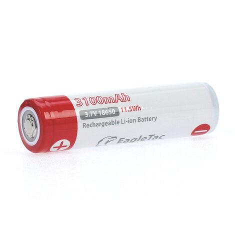 """Batterie Li-Ion LG 18650 """"PS INR1850"""" avec 3200 mAh sans circuit de protection"""
