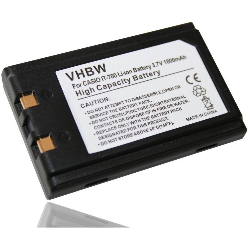 vhbw batterie compatible avec Chameleon RF FL3500, RF PB1900, RF PB2100 scanner de code-barres POS (1800mAh, 3,7V, Li-Ion)