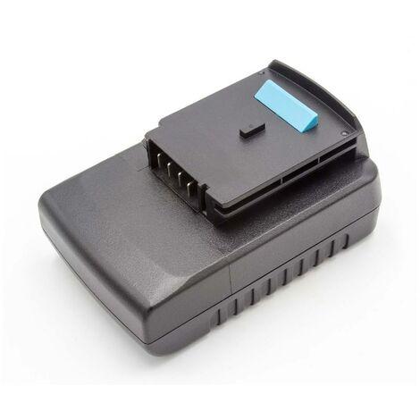Batterie Li-Ion vhbw 2000mAh (18V) pour outils Black & Decker HP188F4LK, LST1018. Remplace: BLACK & DECKER A1518L, LB018-OPE